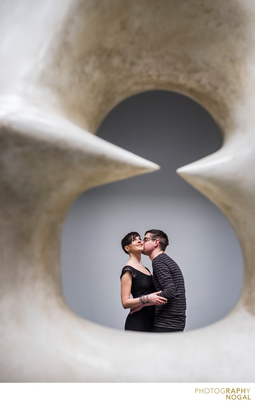 Kiss on a Cheek at AGO