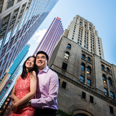 Toronto Financial District Engagement Shoot