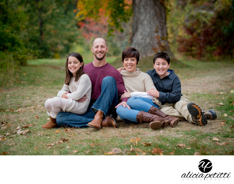 Old Stone Church West Boylston Professional Family Portrait Photographs