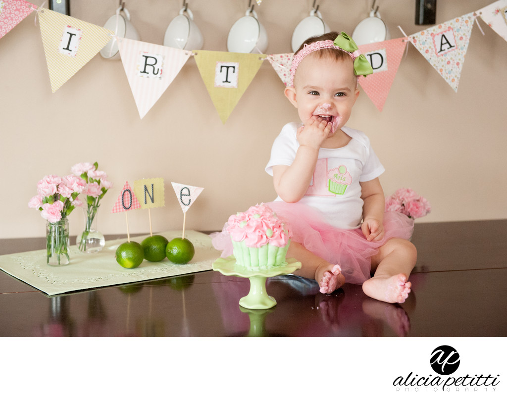 Cake Smash Photography Worcester Massachusetts