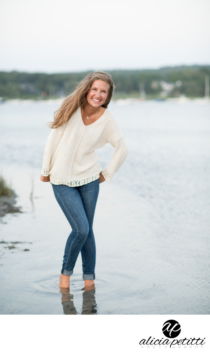 Falmouth Senior Portrait Photography