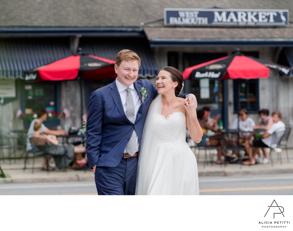 West Falmouth Market Wedding photo