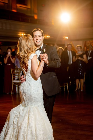 Mechanics Hall first dance