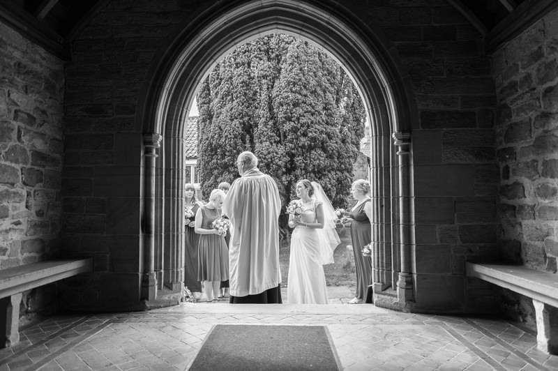 Church Wedding Photographer North Yorkshire