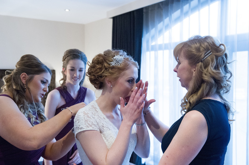 Peak Edge Hotel Chesterfield Wedding