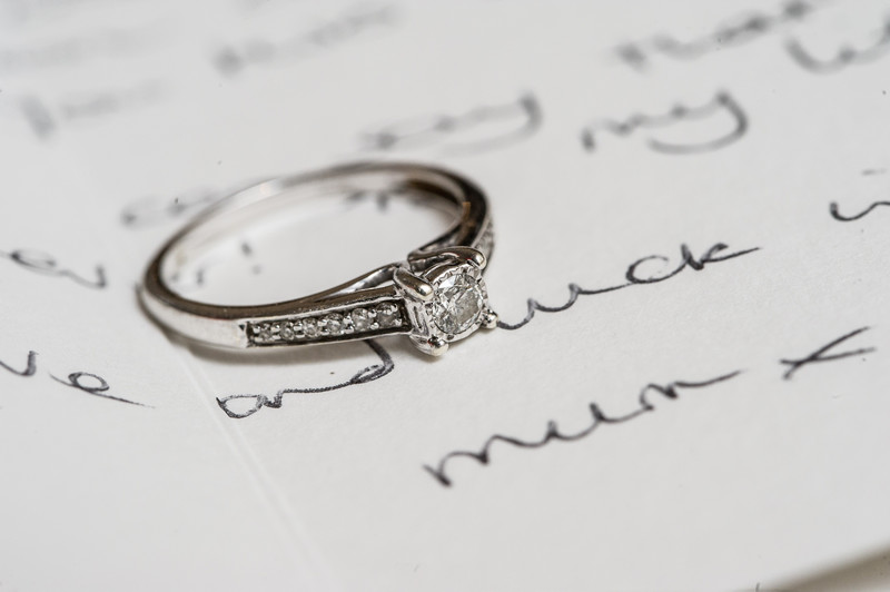 Peak Edge Wedding Engagement Ring