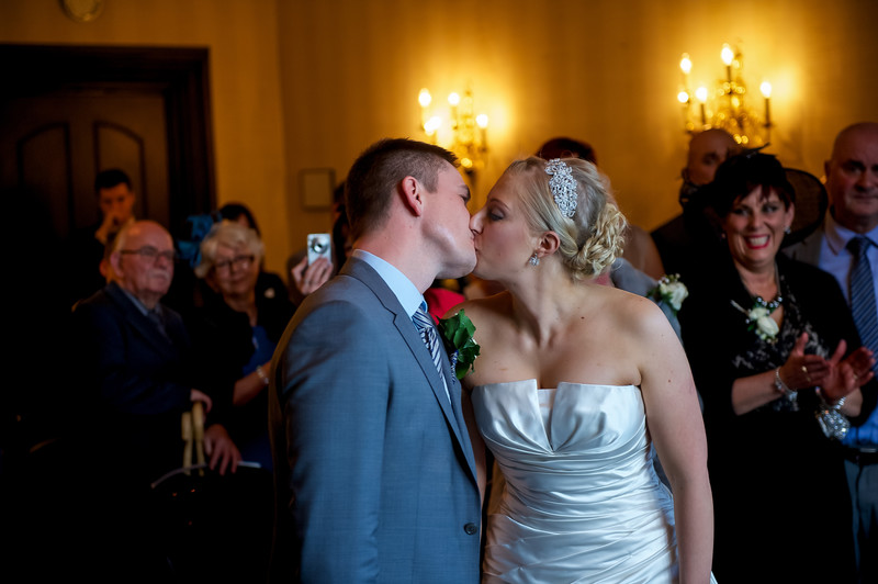 Wedding Photo Kenwood Hall Sheffield