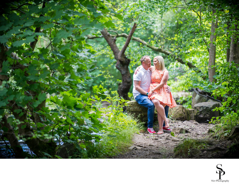 Engagement Photography in Rivelin Valley