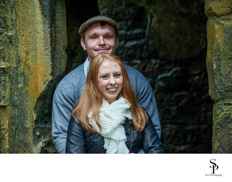 Sheffield Photographer Bolsover Castle Engagement
