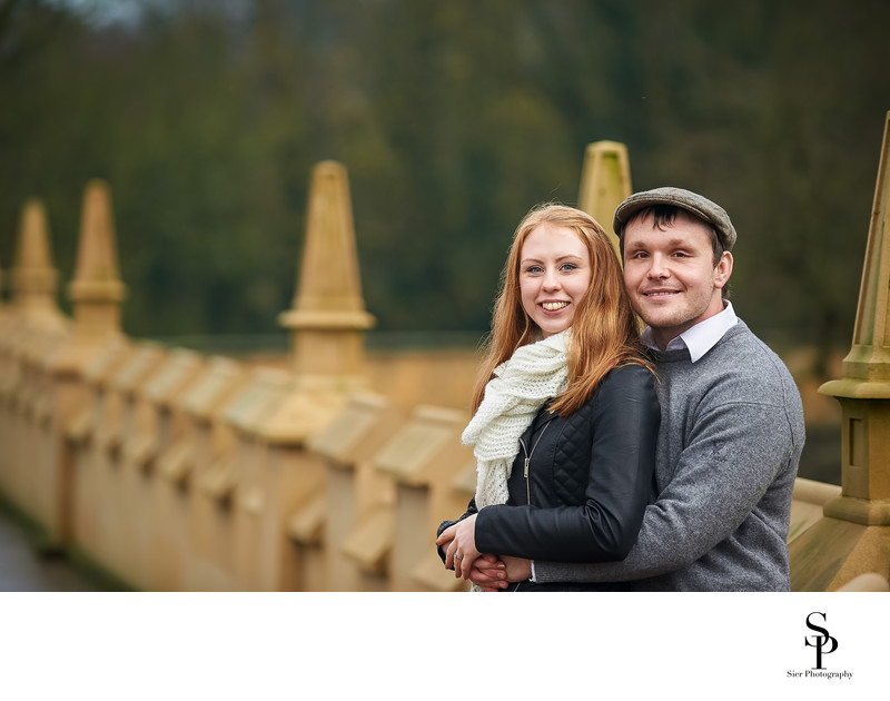 Bolsover Castle Walls Engagement Photography