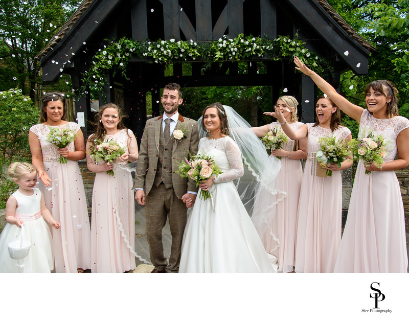 Derbyshire Wedding Photographer Old Whittington