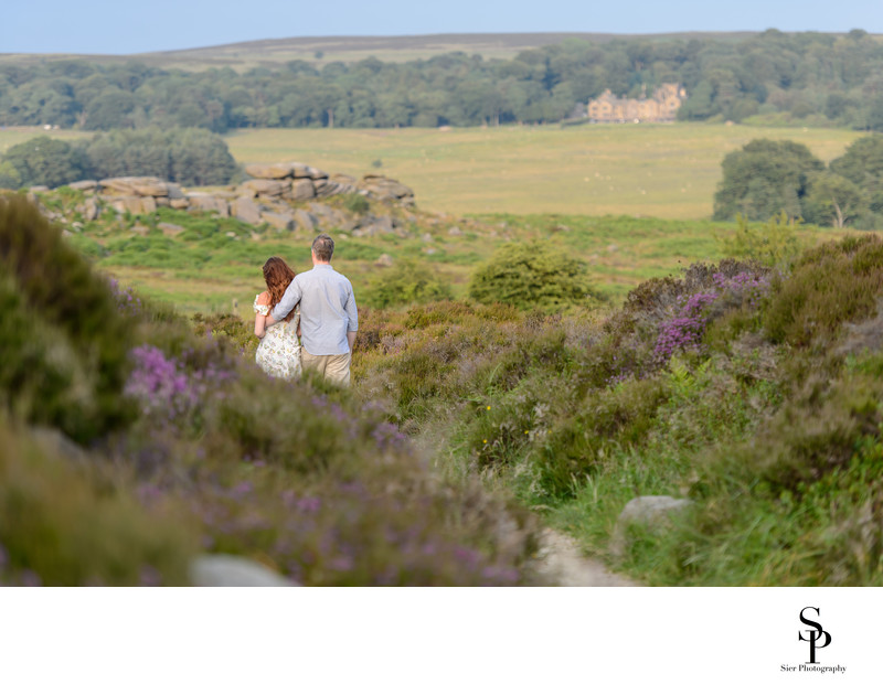derbyshire engagement photographer