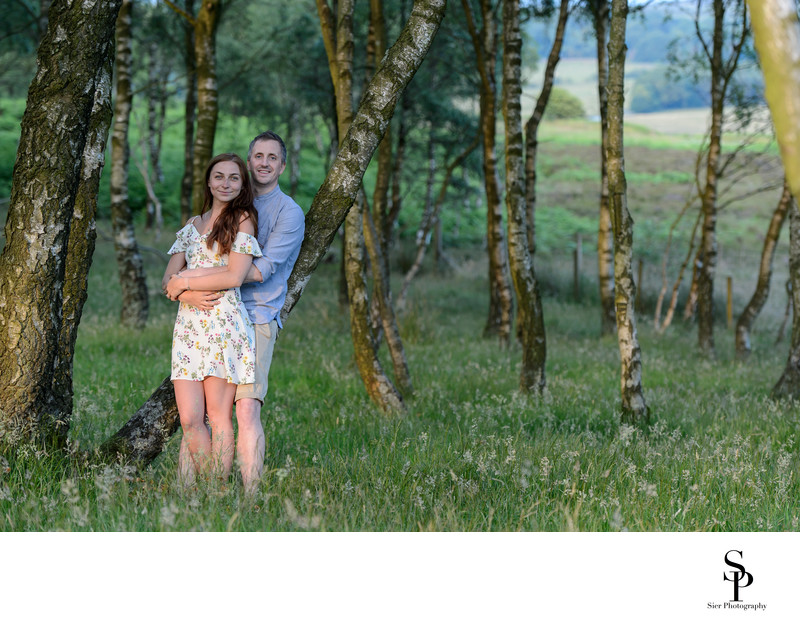 Engagement photography derbyshire
