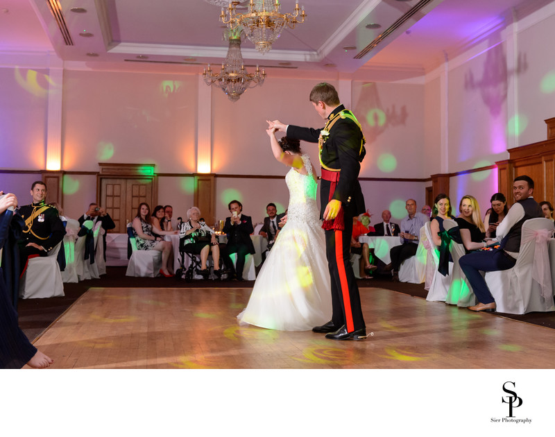 First Dance at Kenwood Hall Hotel Wedding