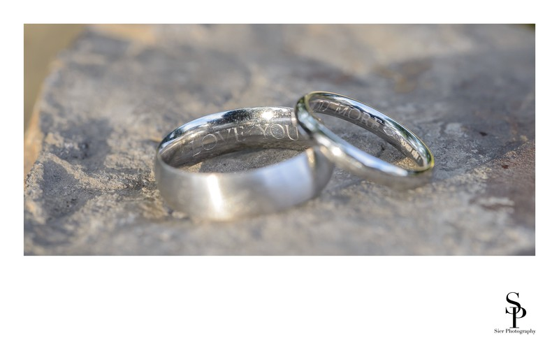 Wedding Rings at Kenwood Hall