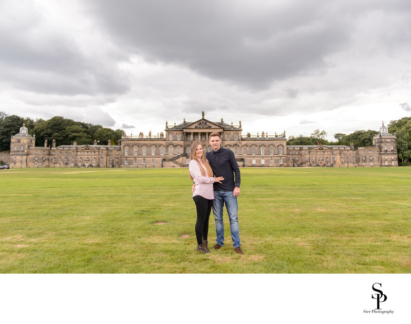 Wentworth Woodhouse Engagement Photography