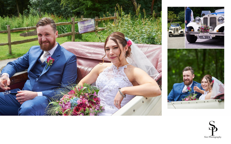 Ecclesall Woods Wedding Car