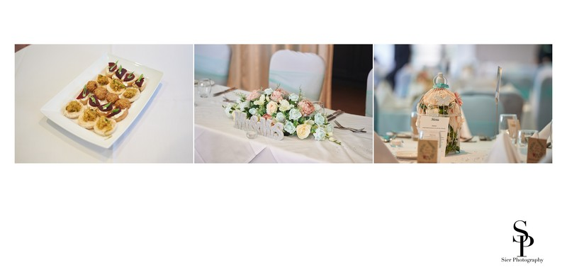 Wedding Breakfast Room Details