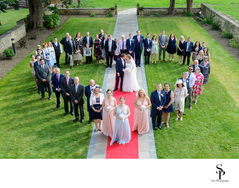 Hellaby Hall Wedding by Sheffield Wedding Photographer