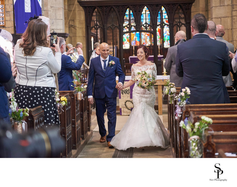 Saint Mary's Church Ecclesfield Wedding Photography