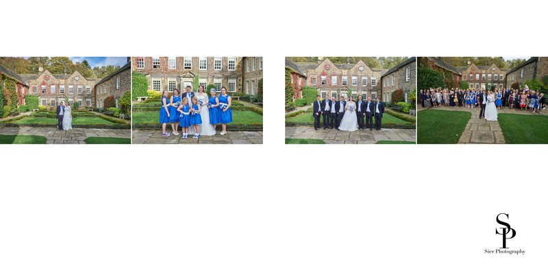 Whitley Hall Hotel Wedding Portraits