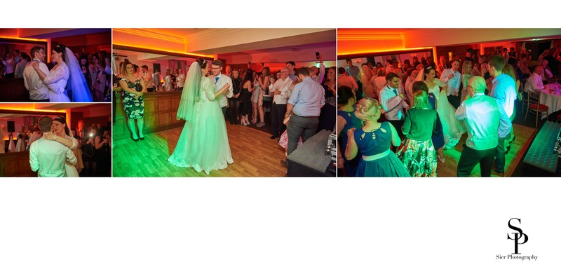 Whitley Hall Hotel Wedding First Dance Photograph