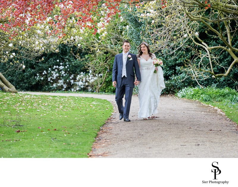 Relaxed Sheffield Botanical Gardens Wedding Photography