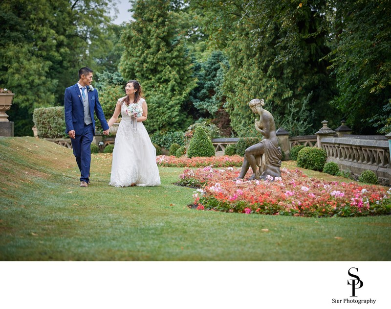 Wedding Photography in Kenwood Hall Grounds Sheffield