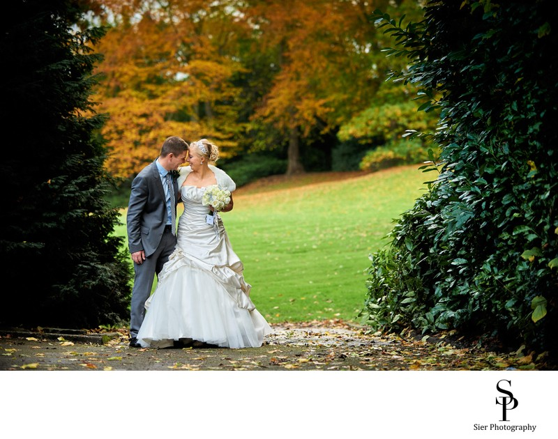 Autumn Wedding at Kenwood Hall Hotel