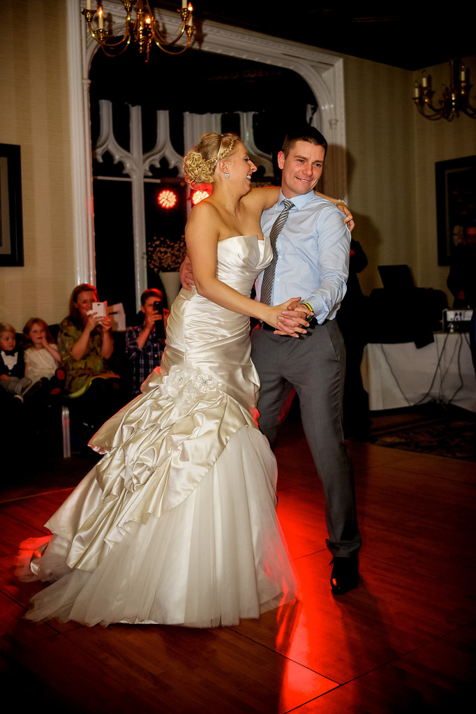 First Dance Kenwood Hall Hotel Wedding