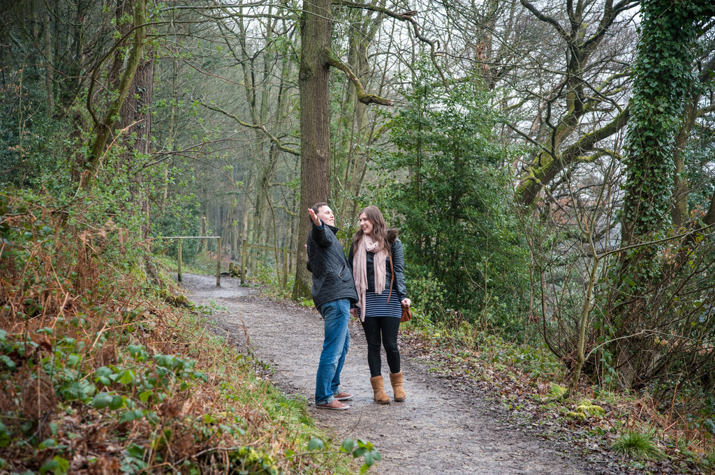 Linacre Chesterfield Engagement Photo Shoot
