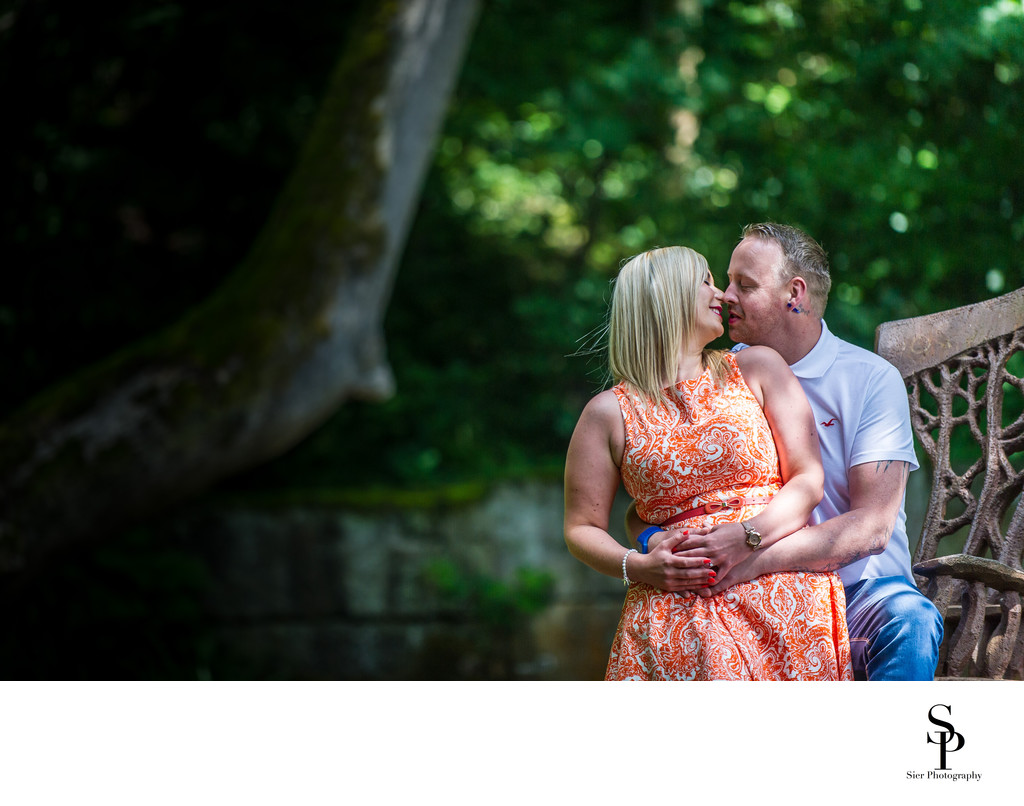 Rivelin Sheffield Engagement Photography