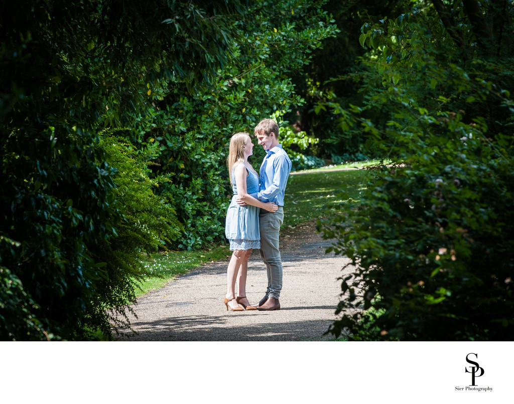 Botanical Gardens Engagement Image