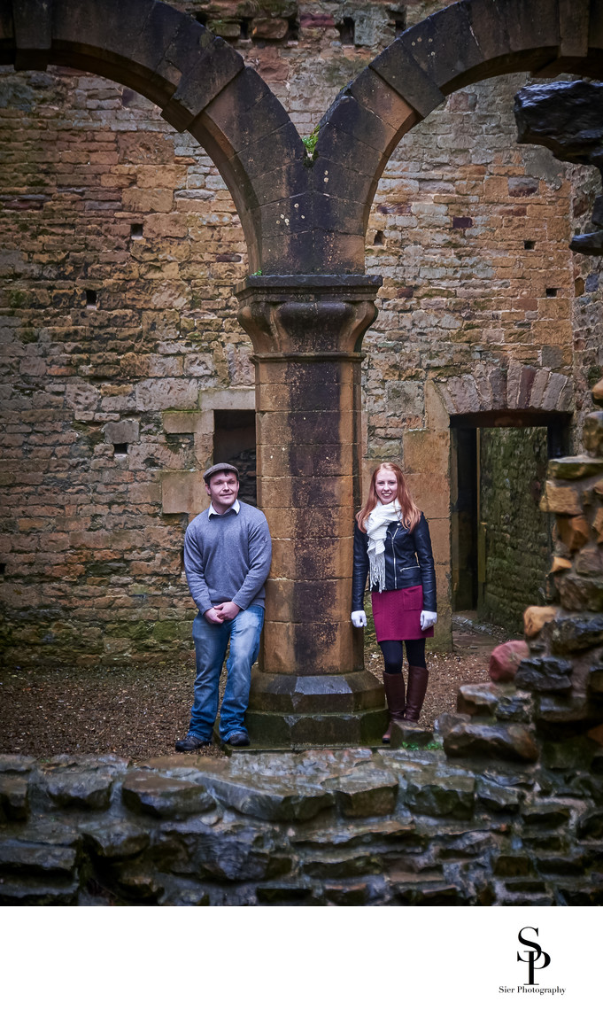 Bolsover Castle Engagement Photography