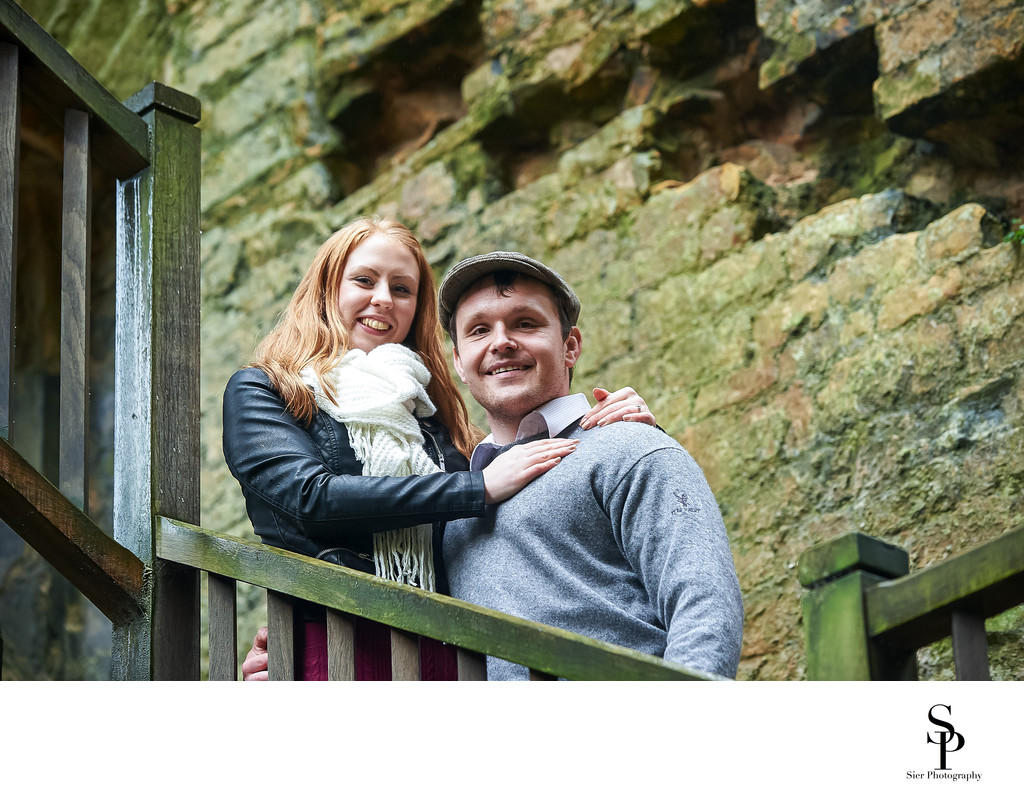 Bolsover Castle Engagement Photography Session