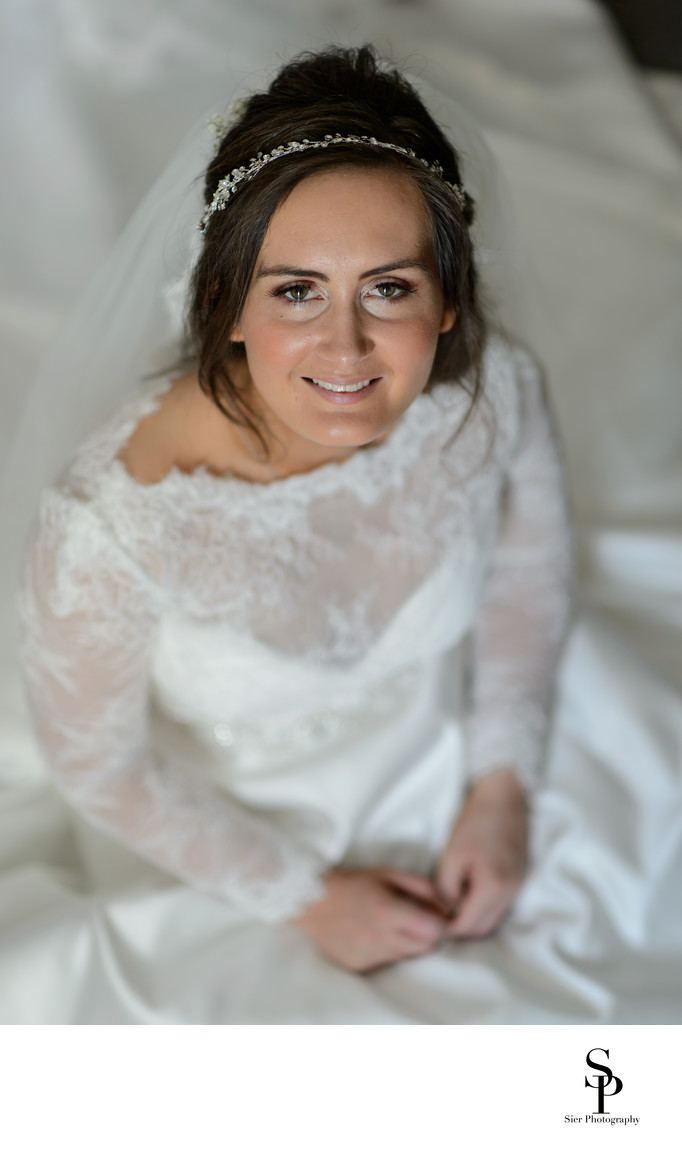 Wedding Photography Derbyshire Bride Portrait