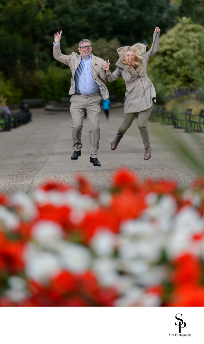 Botanical Gardens Engagement Fun