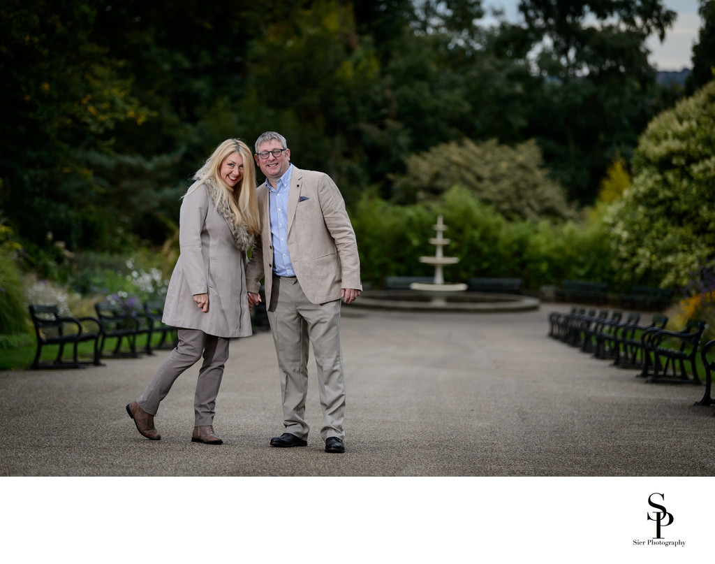 Engagement Photography in Sheffield Botanical Gardens
