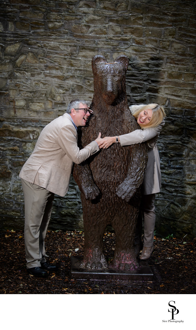 Botanical Gardens Bear Pit Engagement
