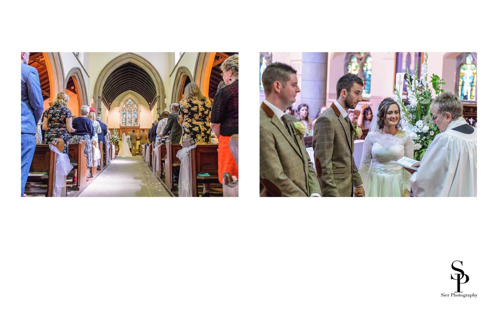 Vicar Marries Smiling Couple