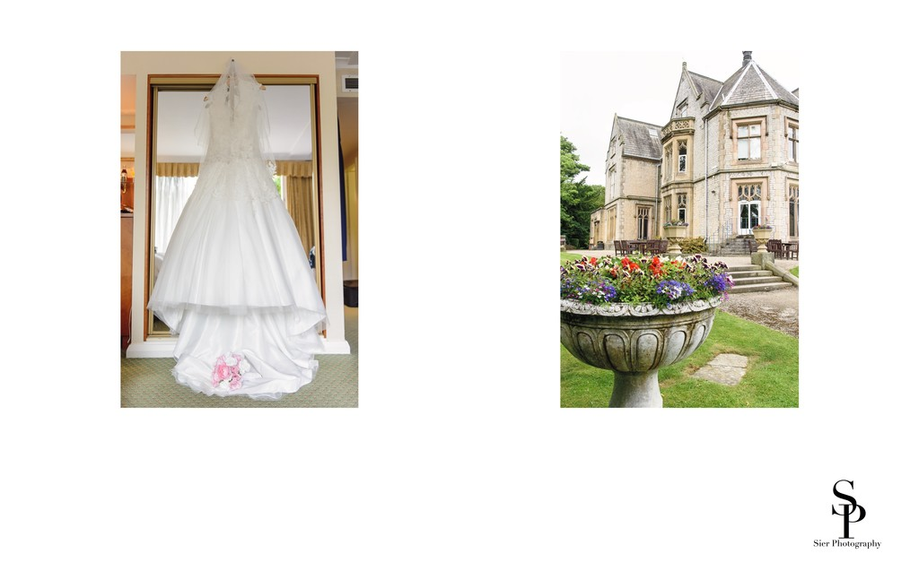 Kenwood Hall and Wedding Dress