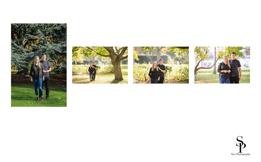 Sheffield Botanical Gardens Engagement Pictures