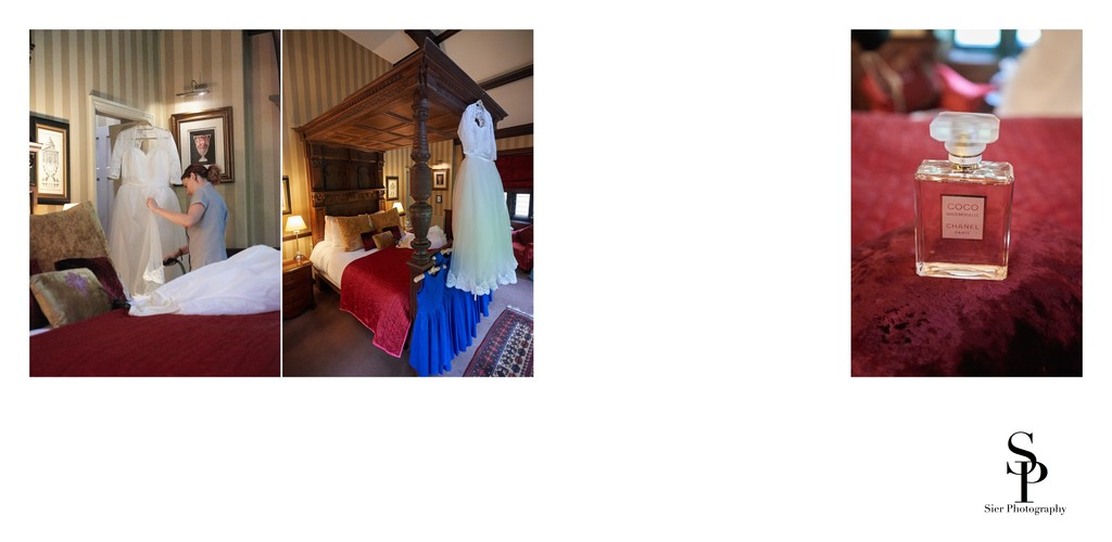 Wedding Dress at Whitley Hall Hotel