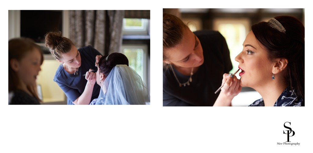 Bridal Makeup at Whitley Hall Hotel