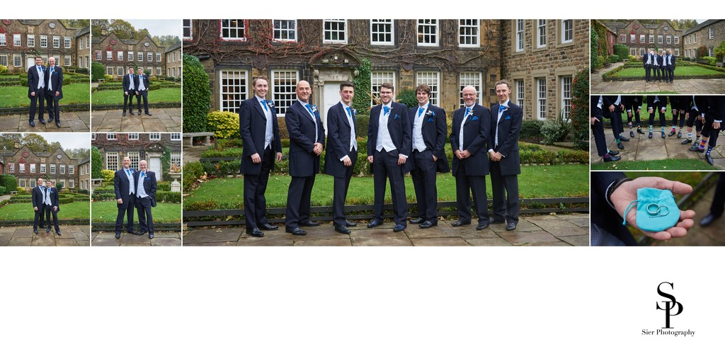 Groomsmen Ready for a Whitley Hall Wedding