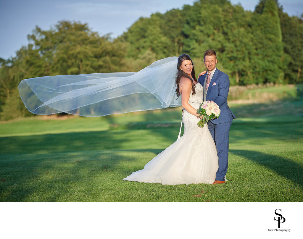 Creative Tankersley Park Golf Club Wedding Photography