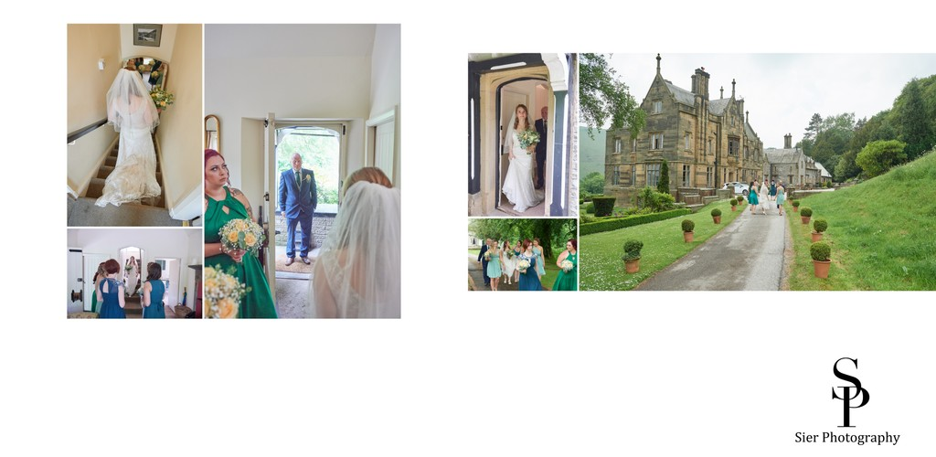 Father of the Bride at Cressbrook Hall