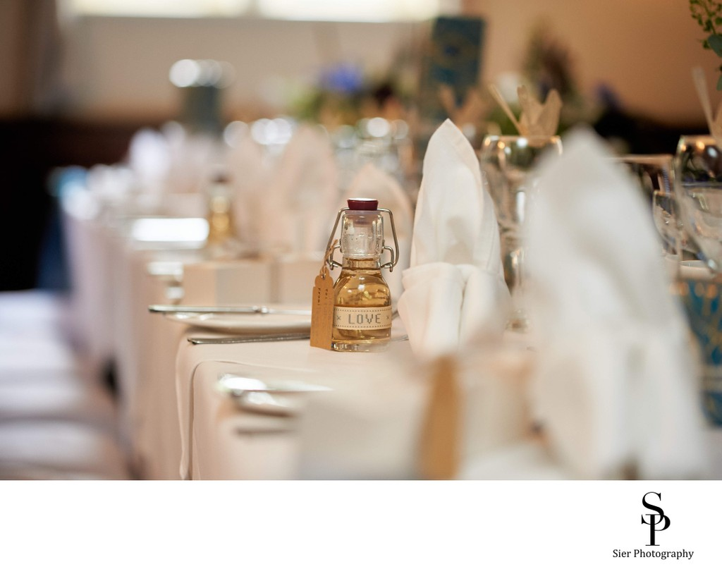 Whitley Hall Wedding Reception Details