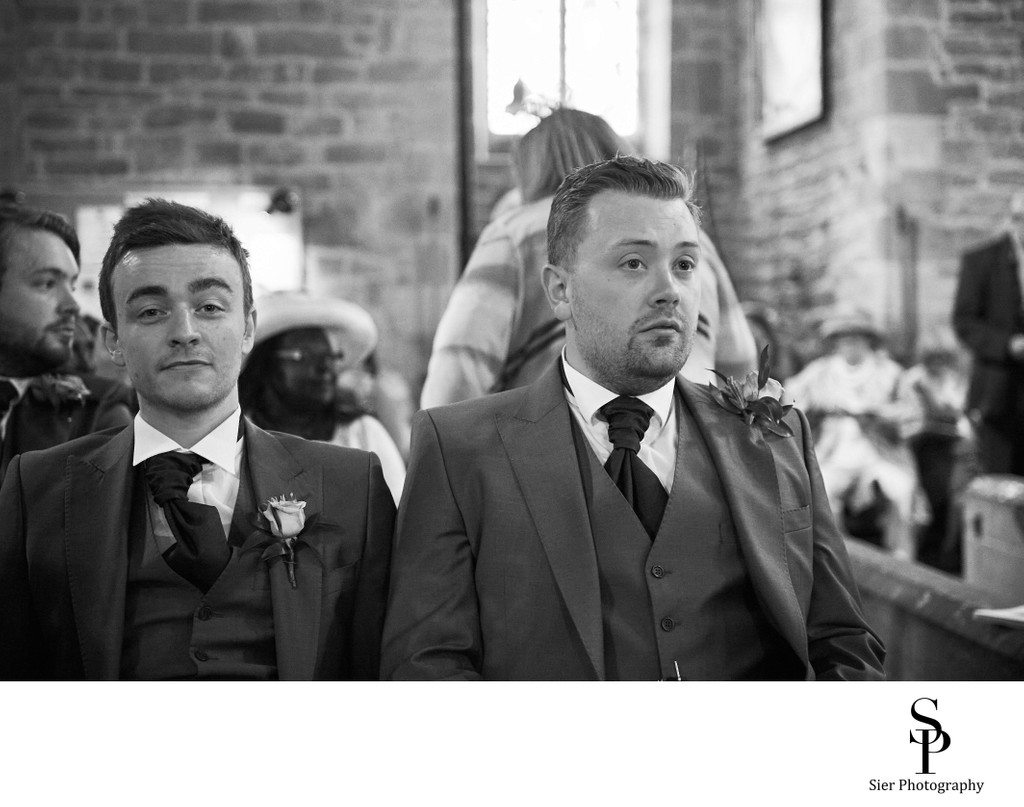 North Yorkshire Groom and Best Man