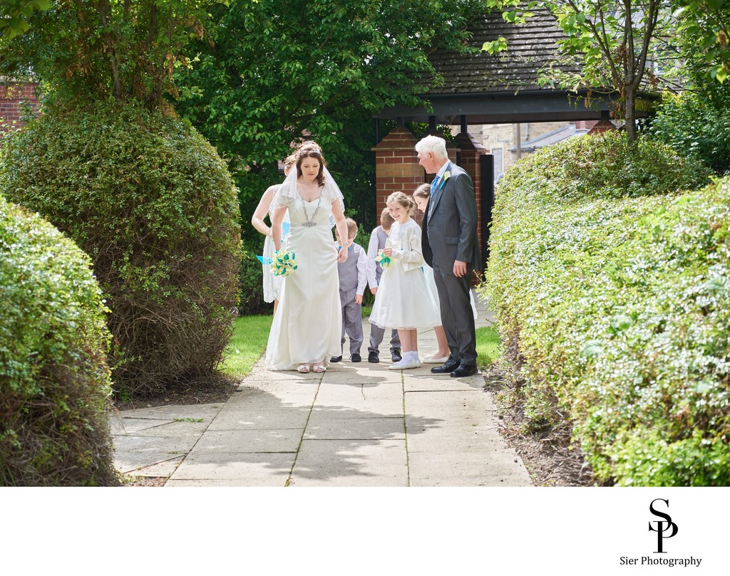 Wedding Photography at Saint Vincent's in Sheffield